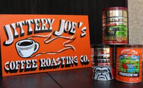 〈田舎からの贈り物〉Jittery joes coffee 500g缶