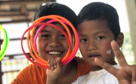 【CDHO応援コース】子ども達からのお礼の動画