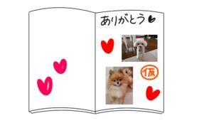 絵本冊子|お名前&愛犬画像掲載セット