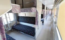 開放型B寝台車両1日体験コース(座席指定券)+香川到着時の撮影会