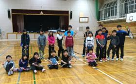 三笠テニス少年団へプレゼントします(30本分)