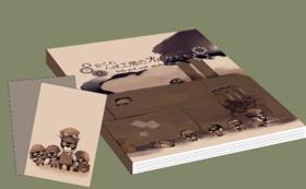 【手描きキャラ本+書籍のあとがきへの記名】 絵本1冊 + ポストカード