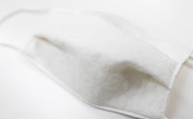 """【5月11日から順次発送】""""銀イオン""""を織り込んだうるおいシルクの洗えるマスク(2枚)"""