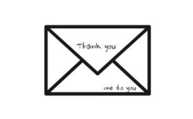 お礼の手書きお手紙メール