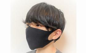 ウレタンマスク(速乾・内ポケット付き)黒2枚セット