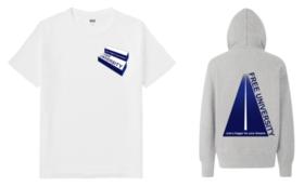 【カッコいいタイプ】FREE UNIVERSITY READY FOR 限定 T-シャツ&パーカーセット