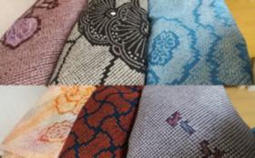 正絹の絞りの材料
