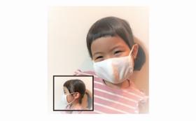 SSサイズ・コットンマスク(耳ゴム調整)2枚セット