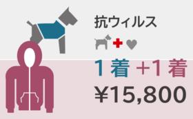 ドッグパーカーと飼い主さんパーカー ¥15,800の応援購入