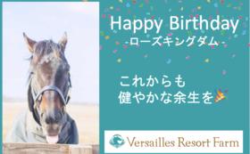 【期間限定コース~5/14】ローズキングダム:バースデープレゼント