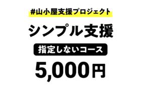 シンプル支援(指定なし):5,000円