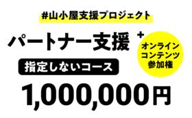 パートナー支援(指定なし):1,000,000円
