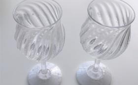 小樽硝子のペアワイングラスコース
