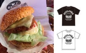 【SOULOVERお楽しみ応援プラン】お好きなハンバーガー5つ+2時間飲み放題+SOULOVER'S Tシャツ