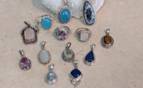 ヒマラヤの宝石ペンダントトップ&ネパールの塩&お礼のメールなど
