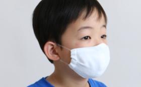 寄贈用5枚セット【15%OFF】サラサラ快適 洗える抗菌防臭マスク キッズサイズ