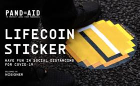【39名限定!】LIFECOIN ステッカー3枚セット