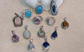 ヒマラヤの宝石ペンダントトップ&お礼のメール