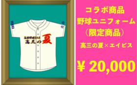 【限定コラボ企画】高三の夏野球ユニフォーム※背番号なし