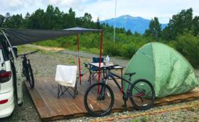 グリーンシーズンオートキャンプAスペース(一台)何度でもOK券