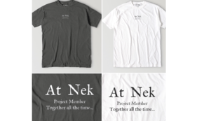 【限定グッズ】ガーメントダイTシャツ(White/Black)のどちらか一点とサンクスレター