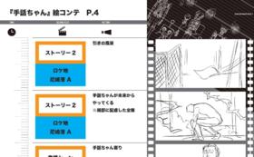 シュワちゃん映像の絵コンテ送付