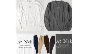 【限定グッズ】ガーメントダイロングスリーブTシャツから一点とタックワークパンツとサンクスレター