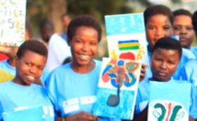 ルワンダから笑顔と感謝のビデオレター