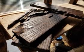 手作りの敷板(小)