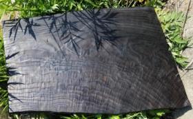 ⼿作りの敷板(⼤)