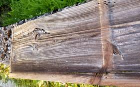 納屋の壁の板