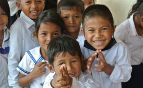 【カンボジアの手洗い場建設をサポート!!】