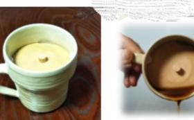 香味を逃がさず冷めにくいコーヒーカップ