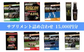 サプリメント詰め合わせセット15000円分