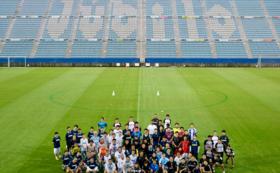 【選手体験コース】ヤマハスタジアムで選手体験!
