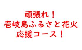 頑張れ!「壱岐島応ふるさと花火」応援コース!