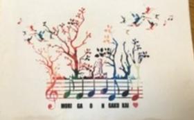 ロゴ入りトートバッグ《森が音楽会バージョン》