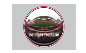 「ONE HEART TOGETHER!」ワッペン