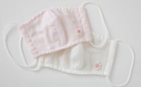 熱中症予防に!【早割10% OFF】2枚セット(中学年)子供用洗える涼しいシルクマスク【限定数40セット】