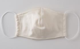 熱中症予防に!【5% OFF】大人メンズ用 洗える涼しいシルクマスク