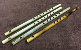 手作り篠笛プレゼント(さくら譜面付き)