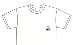 Tシャツを着て応援!