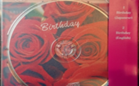 「Birthday」CD