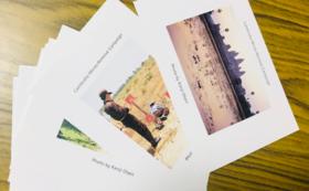 子どもたちの写真付き報告書・カンボジアの絵葉書セット