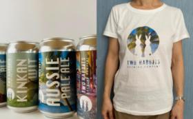 限定ビール6本セット(Tシャツ付)