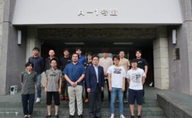 岡澤重信の研究室を見学・研究室ゼミを体験
