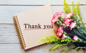 地元産そばと煮干しに感謝のお手紙を添えて