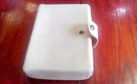 抗菌抗ウイルス対策用マスク革ボックス(スマホ対応)抗菌抗ウイルス加工生地・銅繊維素材シート使用・箱形