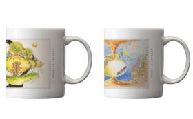 「願いの大地」「希望の海」マグカップセット