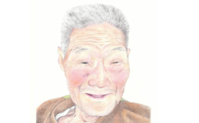 Sコース:肖像画(プロ漫画家作)+c